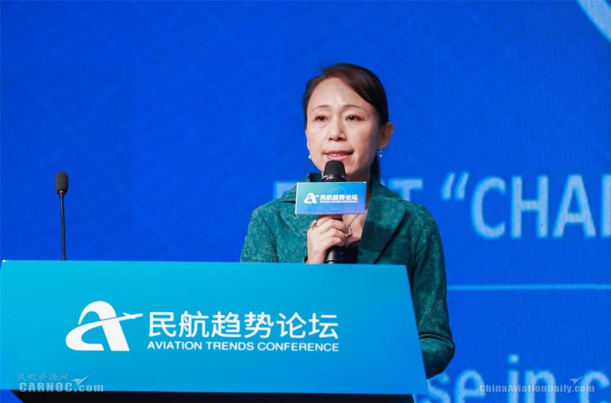 中国东方航空集团(股份)有限公司深化改革办公室副主任邵凤茹